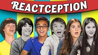 Video TEENS REACT TO THEMSELVES ON KIDS REACT #4 MP3, 3GP, MP4, WEBM, AVI, FLV November 2017