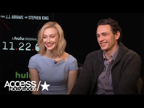 James Franco & Sarah Gadon On Advantages Of Making '11.22.63' For Hulu   Access Hollywood