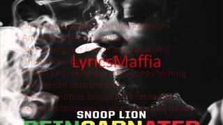 Snoop Lion feat. Angela Hunte - So Long (lyrics on screen)