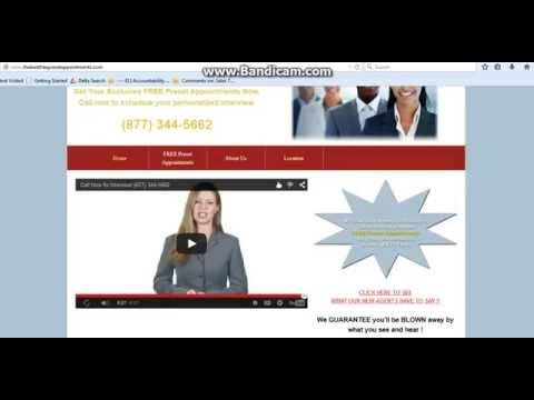 2-19-15 Life and Health Insurance Agent Video Free Leads and Preset Appts