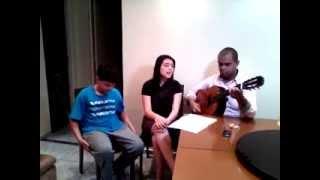 Hino Avulso (Como Ana Cantou) Com Juh Ueno,Daniel Sabino E  Rogerio
