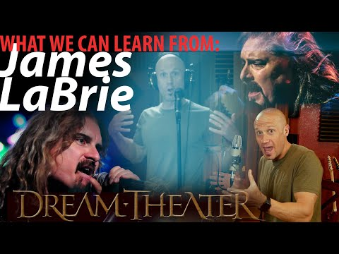 What We Can Learn From James LaBrie About High Singing (Love or Hate... But LEARN) Not A Reaction!
