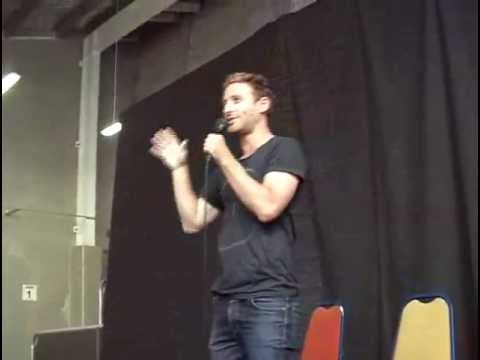 Gorman - Dean O'Gorman at Armageddon Expo convention in Christchurch, 9 March 2013. He was a great guest speaker, plus I recorded segments from the other guests as we...