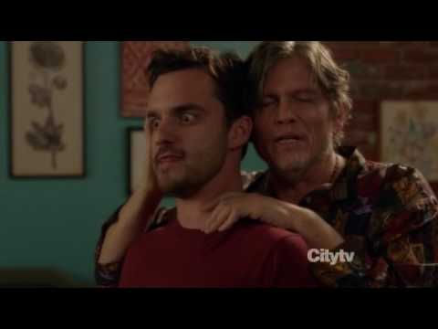 New Girl: Nick & Jess 1x12 #9 (Jess: Let's have a threesome/Nick almost kisses her)