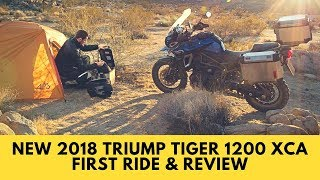 9. New 2018 Triump Tiger 1200 XCA First Ride and Review
