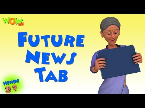 Video Future News Tab | Motu Patlu in Hindi WITH ENGLISH, SPANISH & FRENCH SUBTITLES | As seen on Nick download in MP3, 3GP, MP4, WEBM, AVI, FLV January 2017