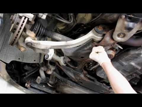 Audi A6 (C5) 1998-2004 – Front lower control arm replacement, how to