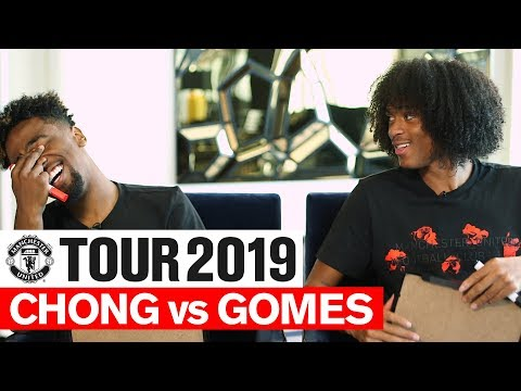 Manchester United | Tour 2019 | Chong vs Gomes | One on One | Player Challenge