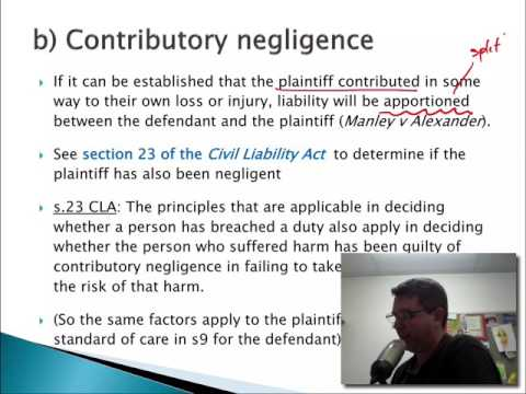 17BSB111 S12.3 Contributory negligence
