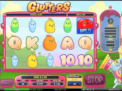 Glutters Slot-  Food Cannon Feature