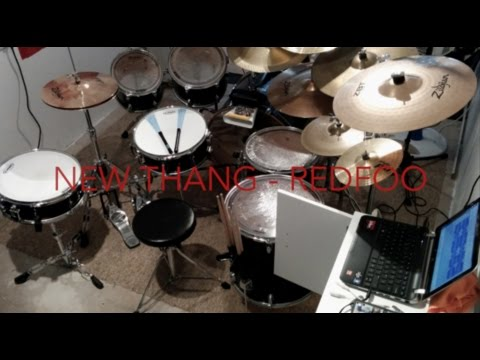 Video New Thang - Redfoo [Drum Cover] download in MP3, 3GP, MP4, WEBM, AVI, FLV January 2017