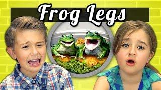 Video KIDS vs. FOOD #9 - FROG LEGS MP3, 3GP, MP4, WEBM, AVI, FLV Mei 2018