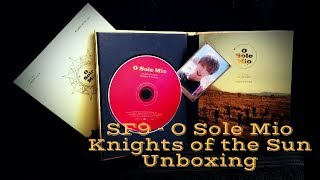 Download Lagu SF9 - knights of the Sun (o sole mio) unboxing Mp3