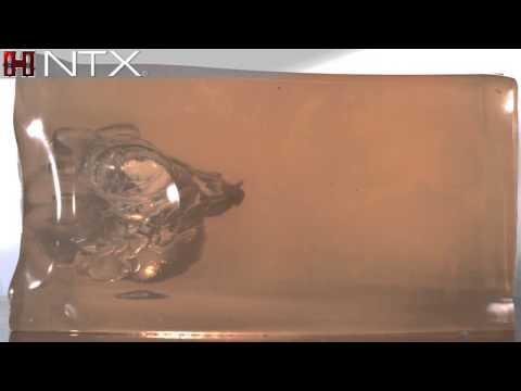 Hornady® NTX® Gelatin Test (видео)