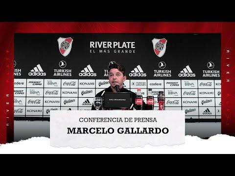 Marcelo Gallardo en conferencia de prensa (15/10/2021)