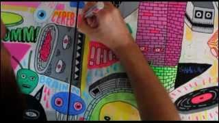 BOA ARTE - NOISE por BERTONE (música por RAYKA)