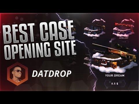 BEST CS:GO CASE OPENING SITE ★ DatDrop.com  - ItsNancy