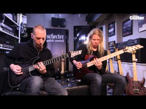 Jeff Loomis and Keith Merrow play 'Tethys' for Total Guitar