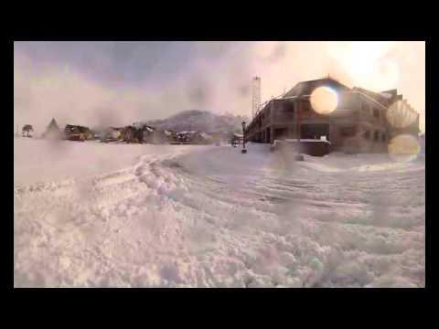 Difunden un video que muestra al Volcán Copahue y la ciudad de Caviahue luego de la evacuación