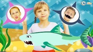 Video Baby Shark Song Nursery Rhymes for Children with Baby Songs! MP3, 3GP, MP4, WEBM, AVI, FLV Maret 2019
