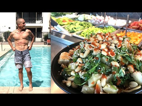 Lose Weight Build Muscle | Healthy Vegan Lunch Recipe! (видео)