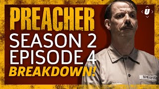 """Episode 4 of Preacher's second season was awesome and...interesting. We spent quite some time in Hell with Arseface, Adolf Hitler and a handful of other horrible people. Plus, Tulip finally comes clean to Jesse about her past. Ryan Peterson recaps Episode 4 """"Viktor"""" as the search for God continues in New Orleans. Send Ryan some questions - http://twitter.com/ryanerikpSubscribe to GameSpot Universe! http://youtube.com/GameSpotUniverse?sub_confirmation=1Follow Us - http://twitter.com/GSUniverseL"""