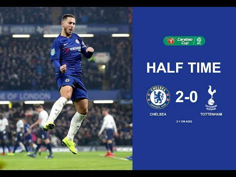 Chelsea Vs Tottenham (2-0) Half Time 1st (Full Match) 25/01/2019