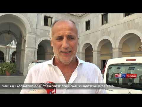 SIGILLI AL LABORATORIO-DORMITORIO CINESE. DENUNCIATI I CLANDESTINI | 17/09/2020