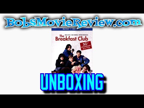 The Breakfast Club Blu-Ray Unboxing Digital HD Giveaway