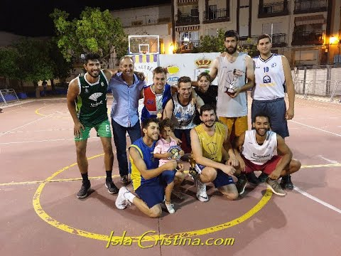 Final XXXVI Torneo de Baloncesto Ciudad de Isla Cristina.