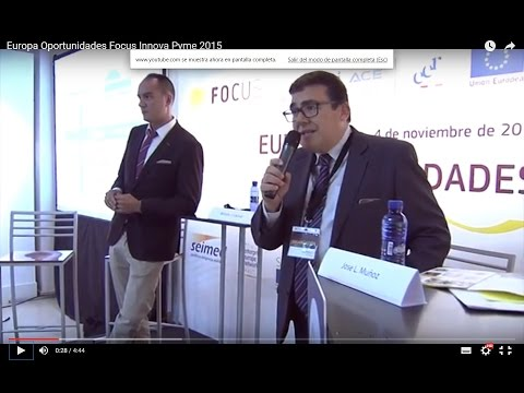 Resumen Europa Oportunidades en Focus Innova Pyme 2015