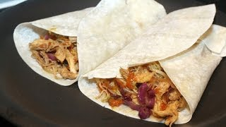 Chicken Tortilla Wrap Recipe in Tamil