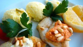 Kartoffel - Olivenpüree