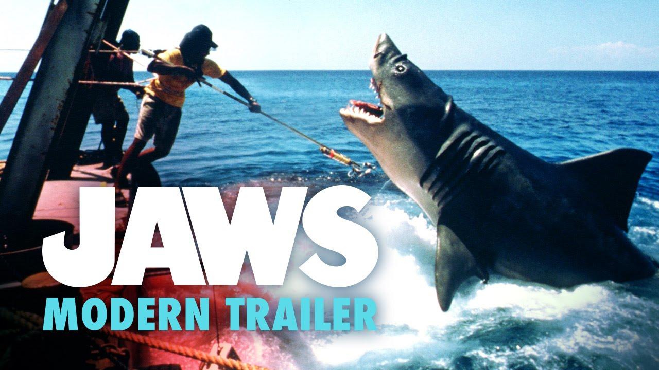 Jaws Modern Trailer Recut (2015) – 40th Anniversary Fan Edit HD #Estrenos #Trailers