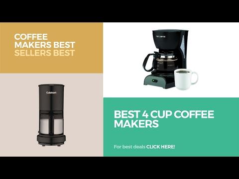 Best 4 Cup Coffee Makers // Coffee Makers Best Sellers Best Sellers
