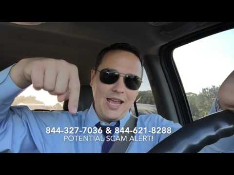 Drive-by Law Bites Ep. 2 - Is 844-327-7036 a scam?