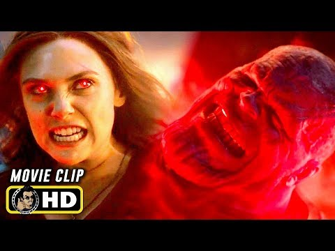 AVENGERS: ENDGAME (2019) Scarlett Witch Vs. Thanos Fight Scene [HD]