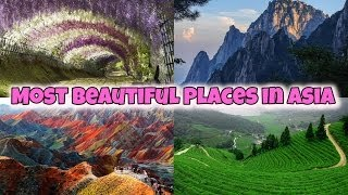Beauty is everywhere, here are some of the most beautiful places in Asia. You won't believe these beautiful places exist, so make sure to put it on your buck...