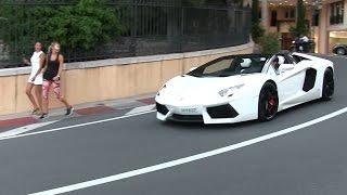 Video Lamborghini Aventador Roadster w/ iPE exhaust in Monaco   LOUD sound + Revs + Chickmagnet MP3, 3GP, MP4, WEBM, AVI, FLV Januari 2019