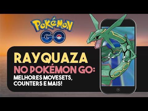 DERROTE O RAYQUAZA: MELHORES POKÉMON PARA BATALHAR! | Pokémon GO видео
