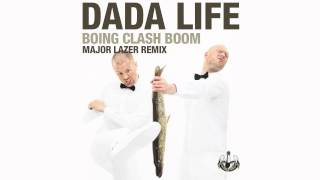 Dada Life videoklipp Boing Clash Boom (Major Lazer Remix)