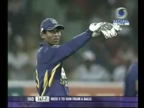 India Vs Sri Lanka - T20 - 2009 - The final 3 thrilling overs.