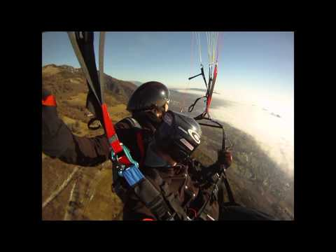galerie TANDEM PARAGLIDING VIDEO - tandemový paraglidingový let