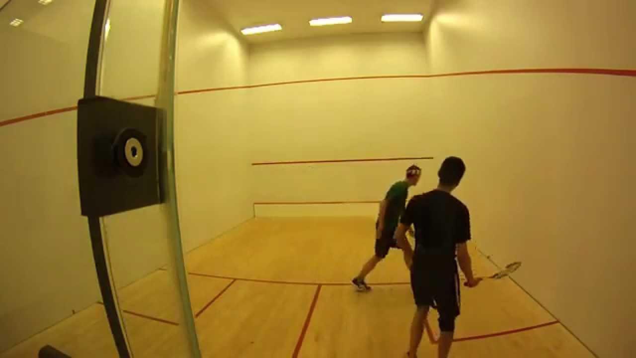 Squash: 2014 Seattle City Championships – 4.0 QF – Wang v Williams