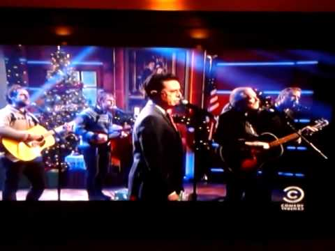 Watch The National, Stephen Colbert, and Gregg Allman get festive and cover 'Silver Bells'