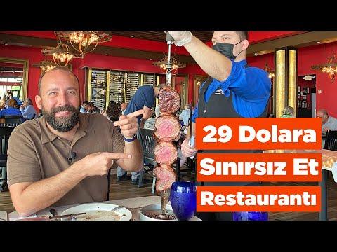 Amerika'da 29 Dolara Sınırsız Et Restaurantı: Picanha Show