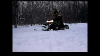 7. Arctic cat 1100 Turbo Lxr 2012/2013 snowmobiling in MI