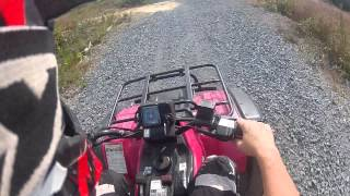 7. suzuki quadrunner 250 top speed 45mph