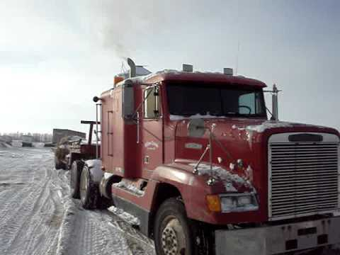 Cold Start Freightliner Detroit Diesel Series 60
