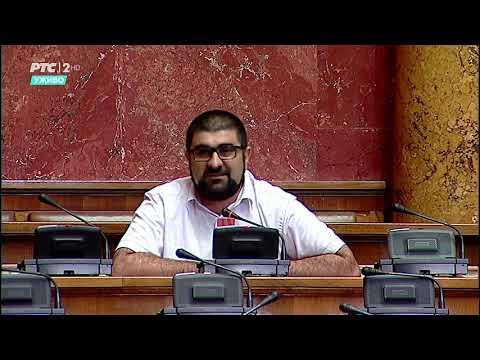 Dr. Fehratović u Skupštini o korupcijskim radnjama funkcionera u Sandžaku